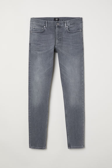 Skinny Jeans - Grey denim -  | H&M IE