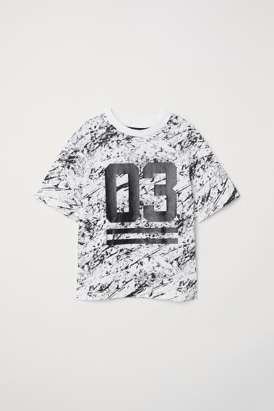 H&M - T-shirt avec impression - 1