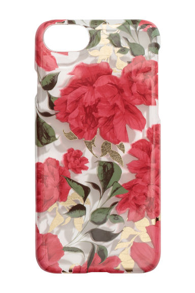 iPhone 6/6s case - Transparent/Floral -  | H&M
