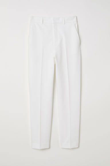 Suit Pants - Cream - Ladies | H&M CA