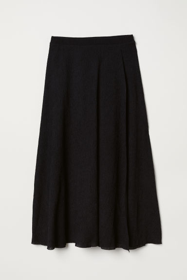 Bell-shaped skirt - Black -  | H&M CN