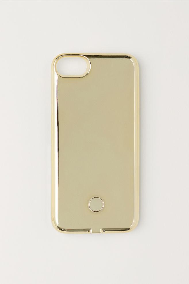 reputable site 896eb 05cf2 iPhone 6/7 selfie light case