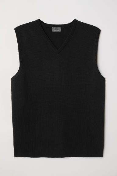 Gilet van premium cotton - Zwart - HEREN | H&M BE