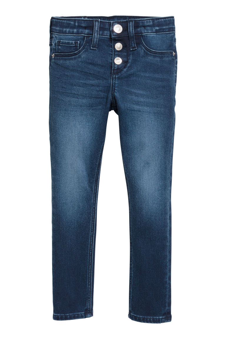 Skinny fit Jeans - Dark denim blue - Kids | H&M CN