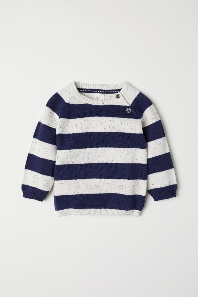 e06461c2105 Fine-knit Cotton Sweater