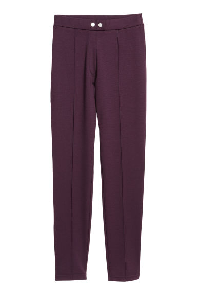 Treggings - Plum - Ladies | H&M GB