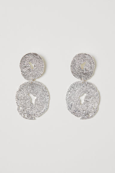 Large earrings - Silver-coloured - Ladies | H&M IE