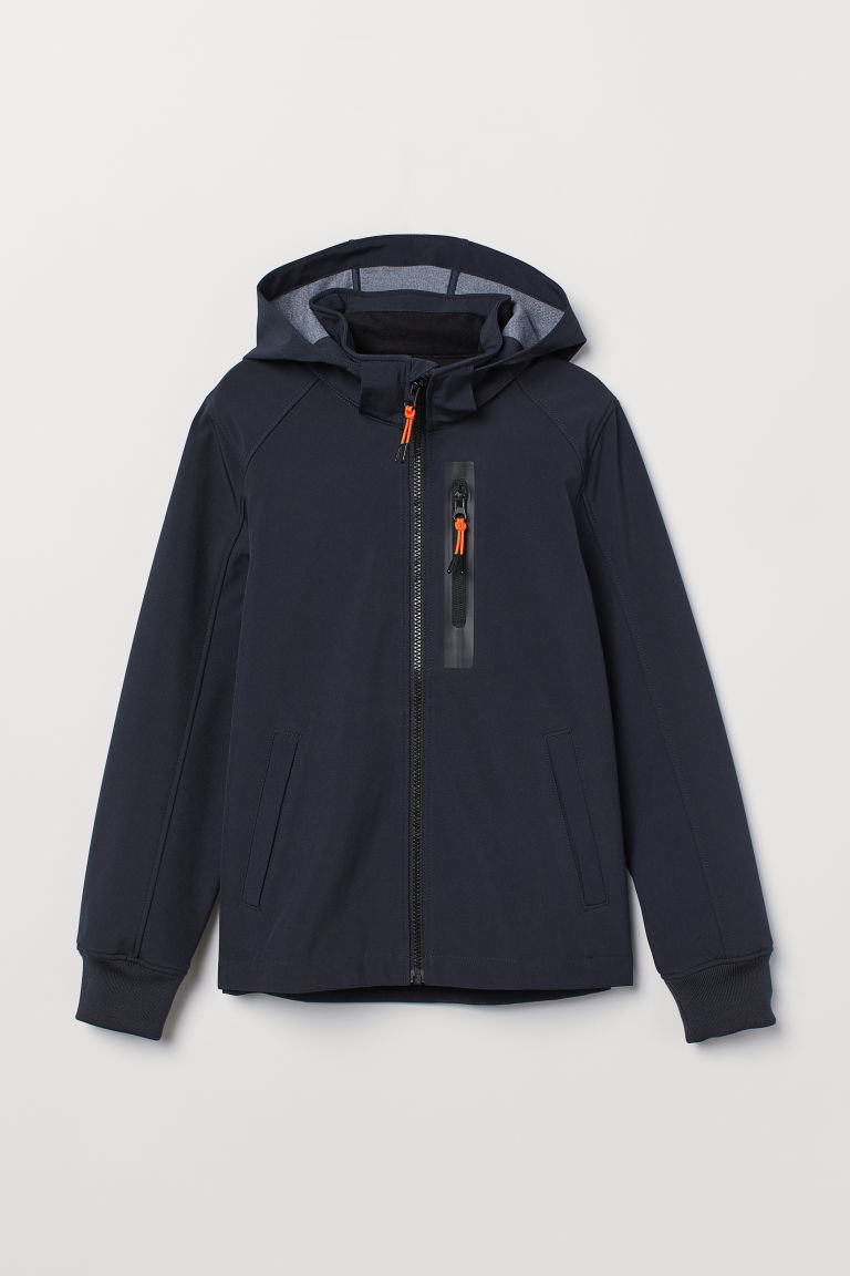 Giacca softshell - Blu scuro -  | H&M IT