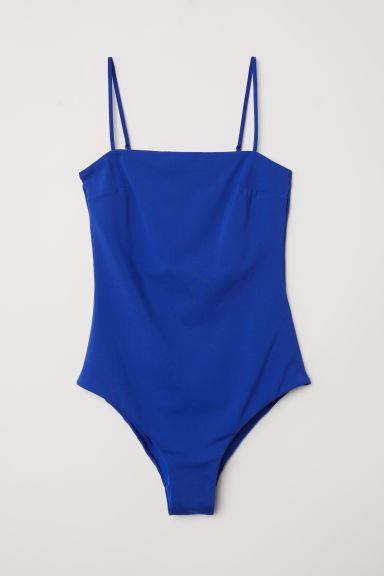Swimsuit - Bright blue - Ladies | H&M CN
