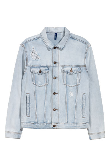 Denim jacket - Denim blue - Men | H&M