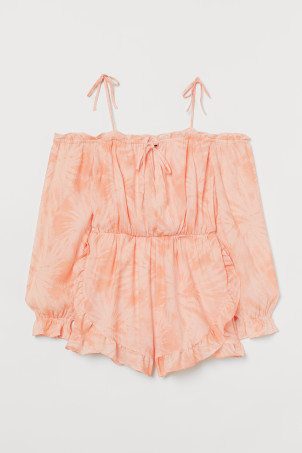 Playsuit mit Volants