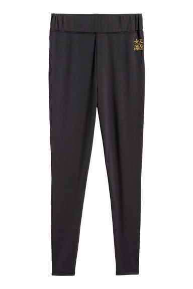 Jersey leggings - Black - Ladies | H&M CN
