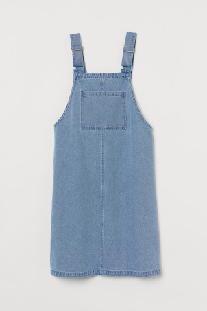 Oversized dungaree dress