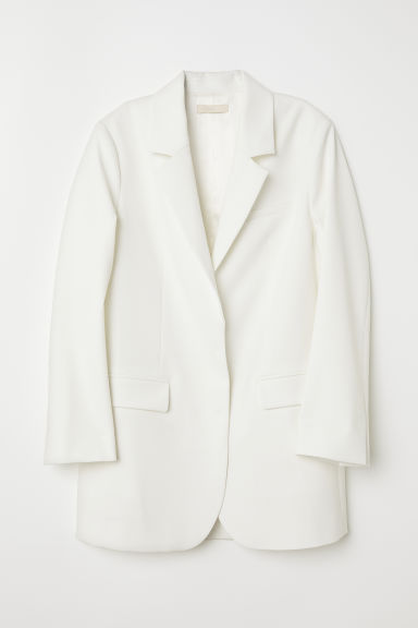 Oversized jacket - Cream - Ladies | H&M CN