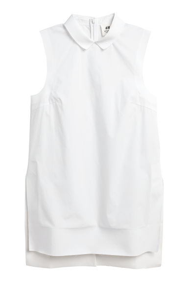 Katoenen top - Wit -  | H&M BE