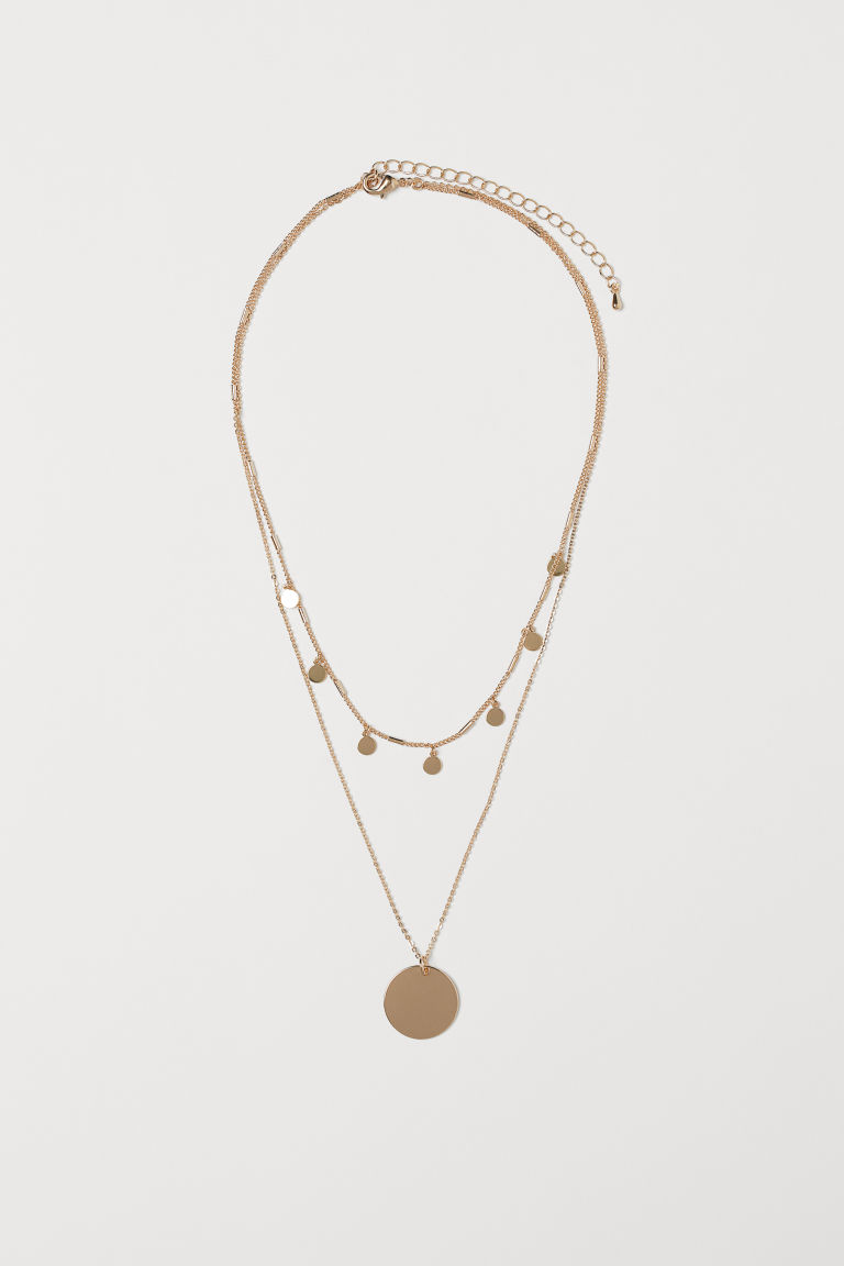 Double-strand Necklace - Gold-colored - Ladies | H&M US