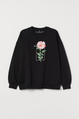 H&M+ Sweat imprimé