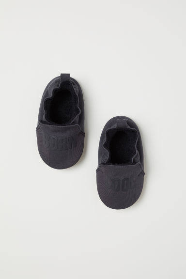 Soft bootees - Dark grey -  | H&M