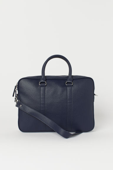 Laptop bag - Dark blue - Men | H&M GB