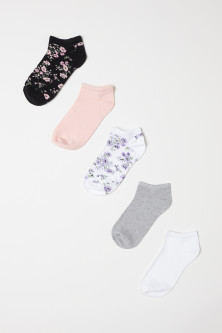 5-pack Ankle Socks