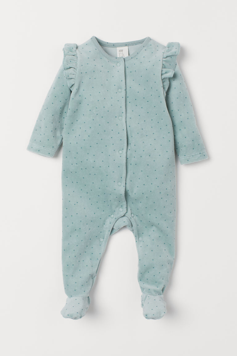 Velour Overall by H&M