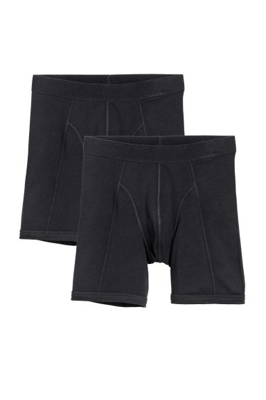 Boxer lunghi, 2 pz - Nero -  | H&M IT