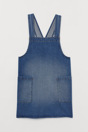 Tablier en denim
