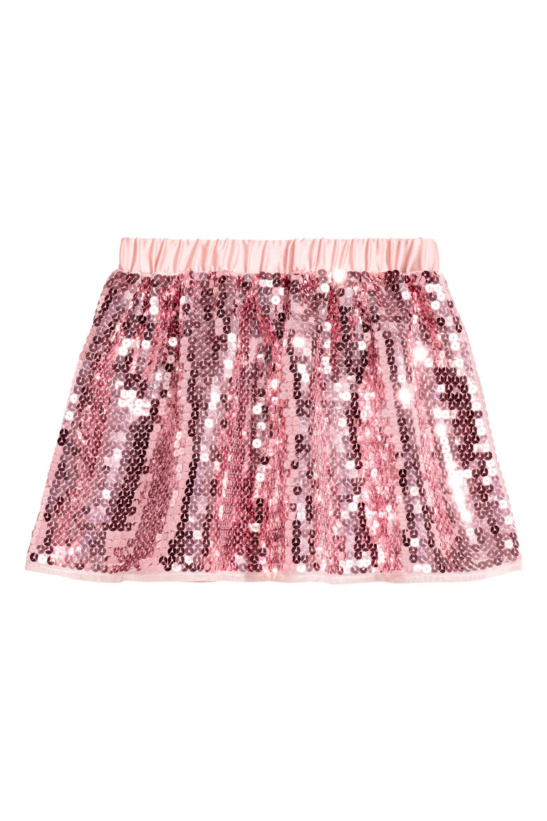 Sequined skirt - Pink - Kids | H&M