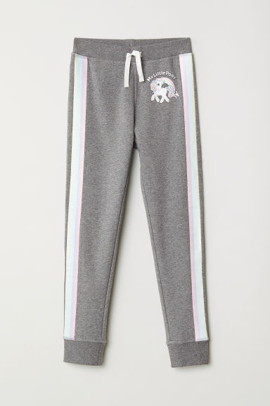 Joggers con stampa - Grigio scuro/My Little Pony -  | H&M IT