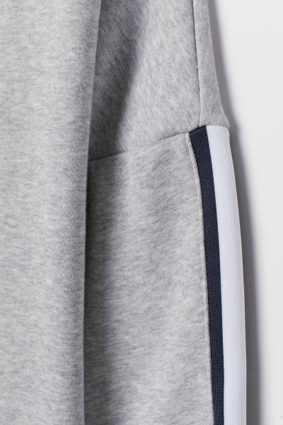 H&M - Sweatshirt with sleeve stripes - 6