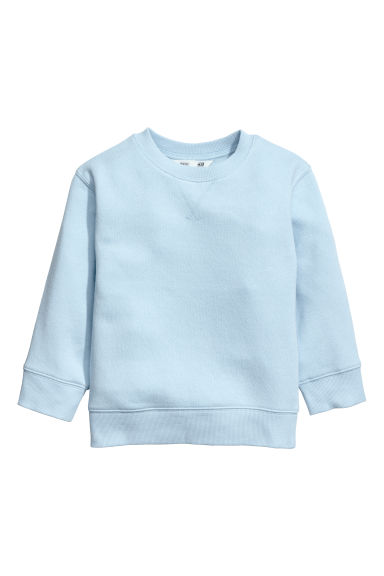 Sweatshirt - Light blue - Kids | H&M CN