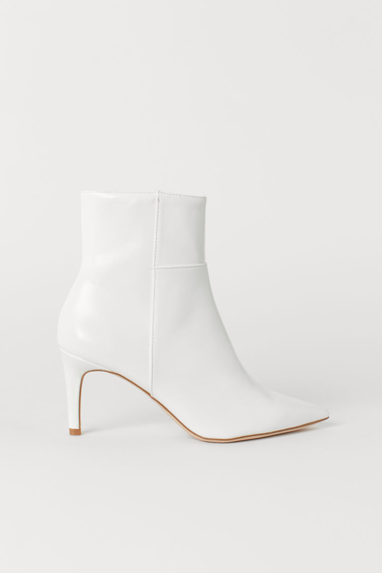 Ankle Boots - White - Ladies | H&M US