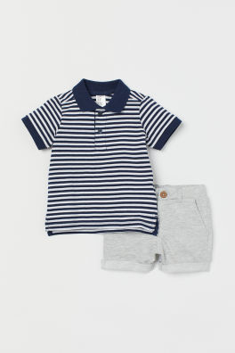e07232412 SALE - Baby Boy Sets & One Pieces - 4-24 months - Shop Online | H&M US