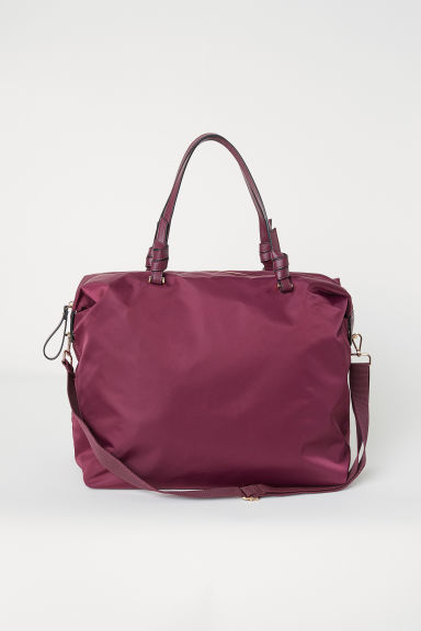 Nylon shoulder bag - Plum - Ladies | H&M CN