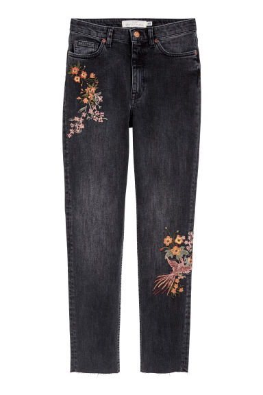 Slim Regular Jeans - Dark grey -  | H&M CN