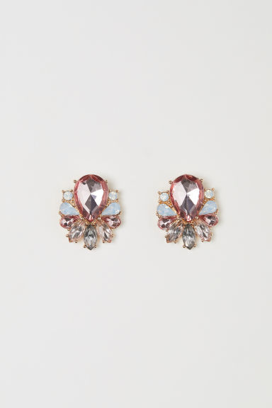 Earrings - Light pink - Ladies | H&M
