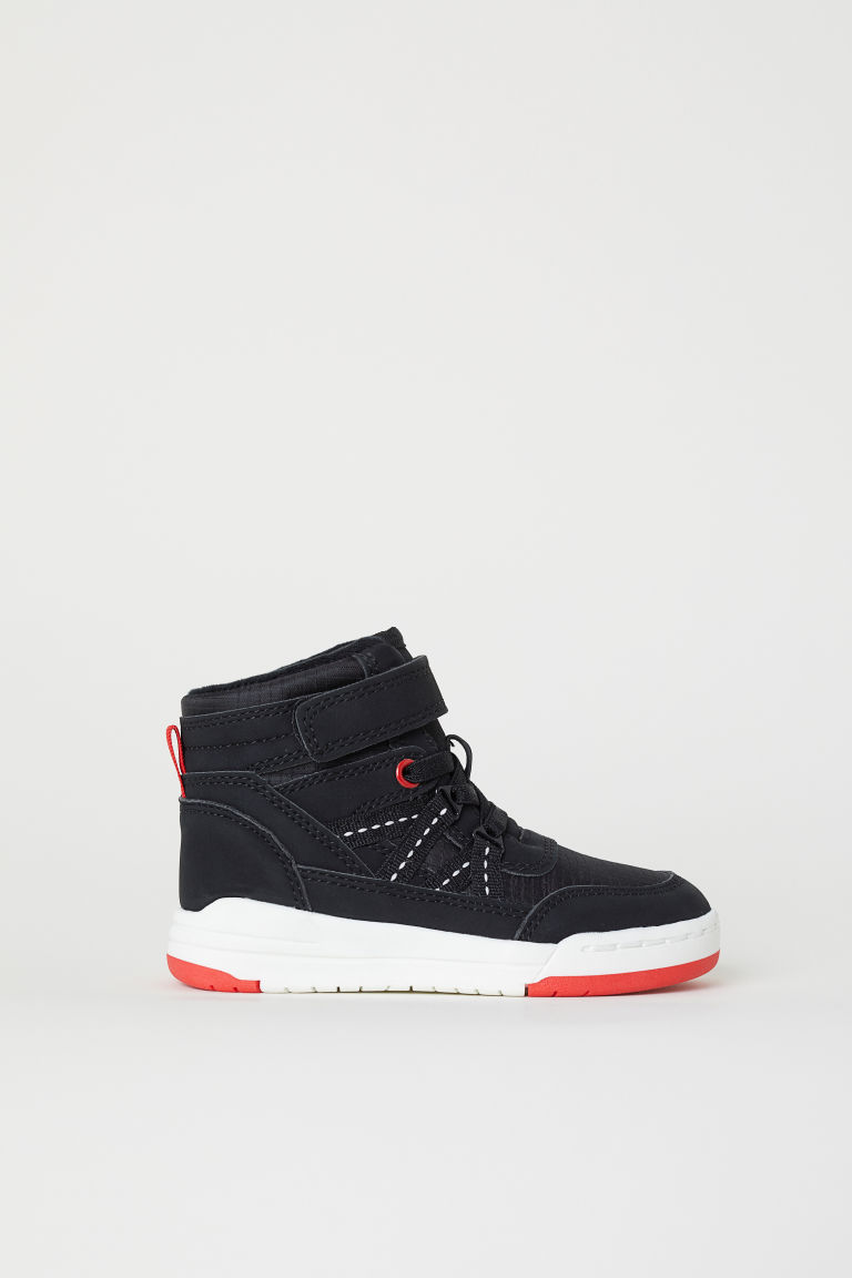 Hi-top trainers - Black - Kids | H&M