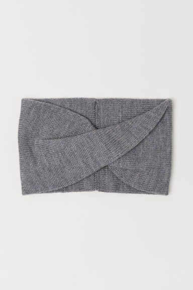 Snood en laine - Gris chiné - ENFANT | H&M BE