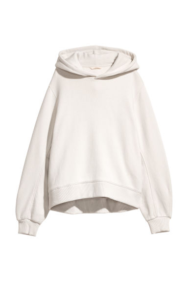 Hooded top - Light beige -  | H&M CN