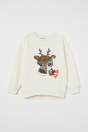 Sweatshirt with Motif