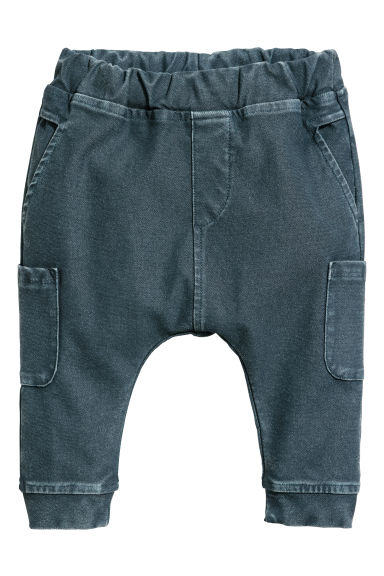 Pantaloni cargo - Petrolio -  | H&M IT