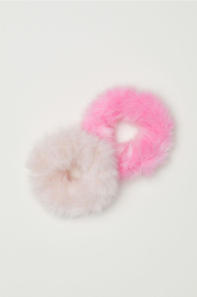 2 gumičky do vlasů - Růžová - DĚTI  e5daf1c8fb