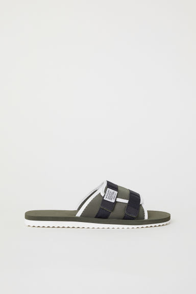 Pool shoes - Khaki green -  | H&M