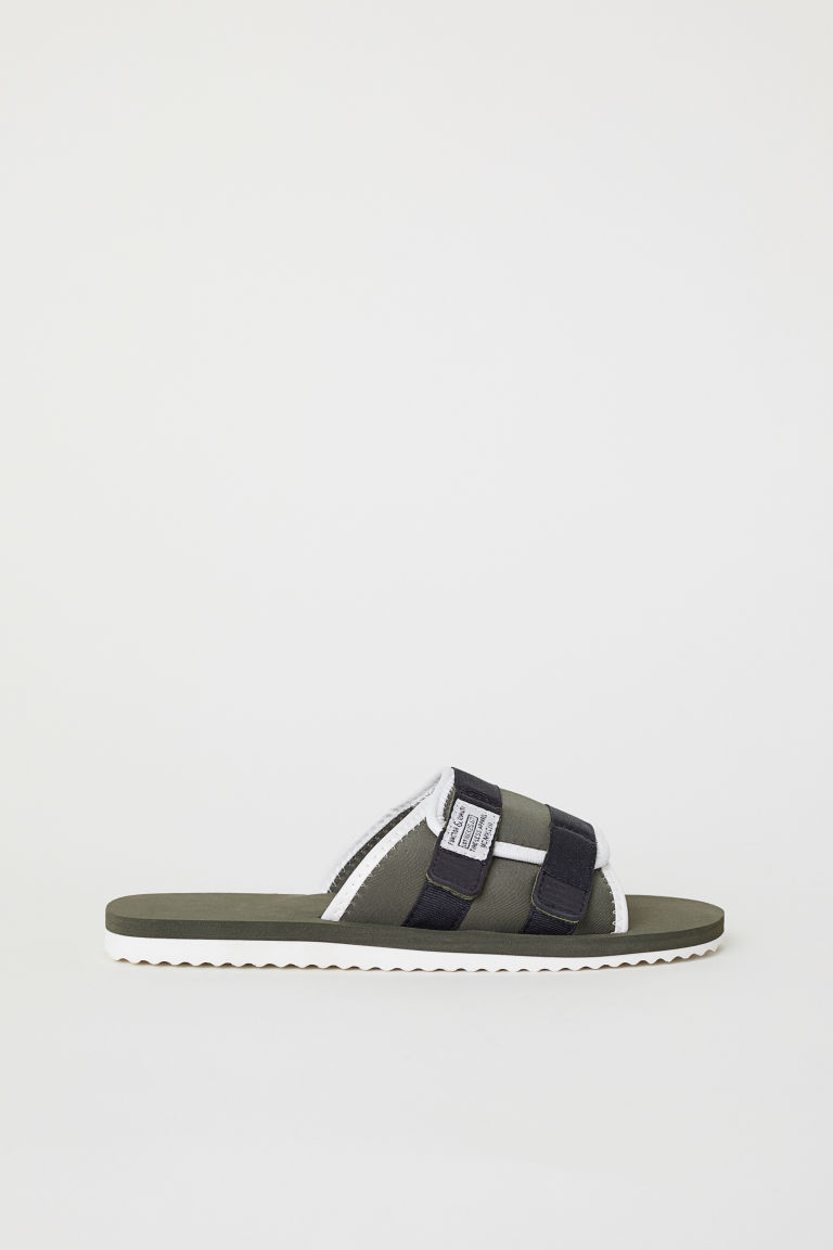 Pool shoes - Khaki green -  | H&M CN