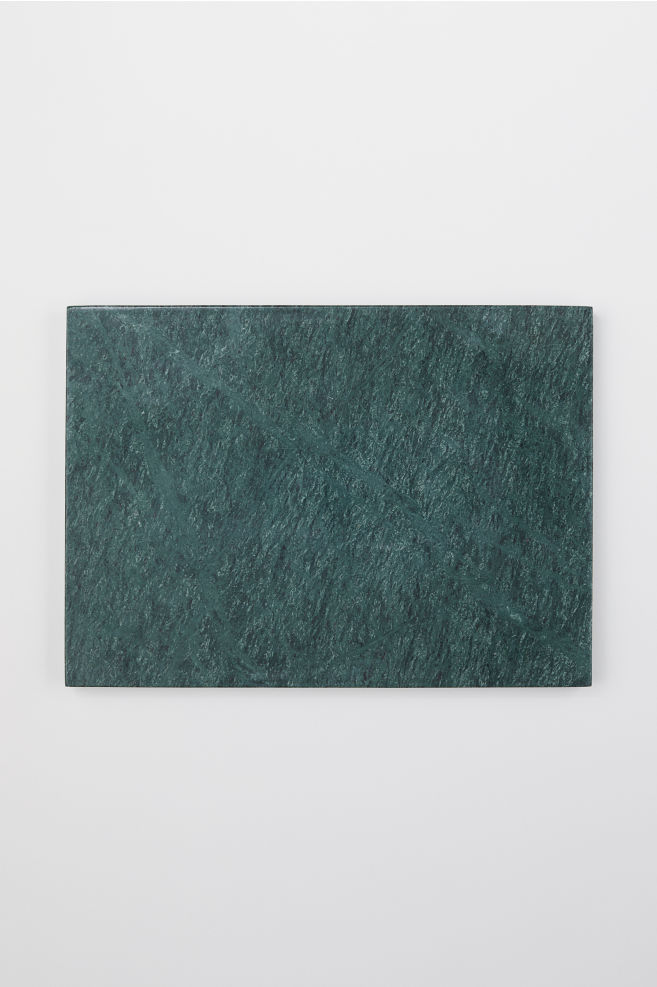Marble Cutting Board Dark Green Marbled Home All H M