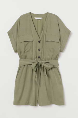 Playsuit i lyocellmix