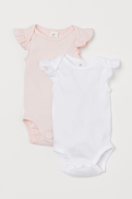 97050bca7 Baby Girl Clothes | Age 4 Months to 4 Years | H&M GB