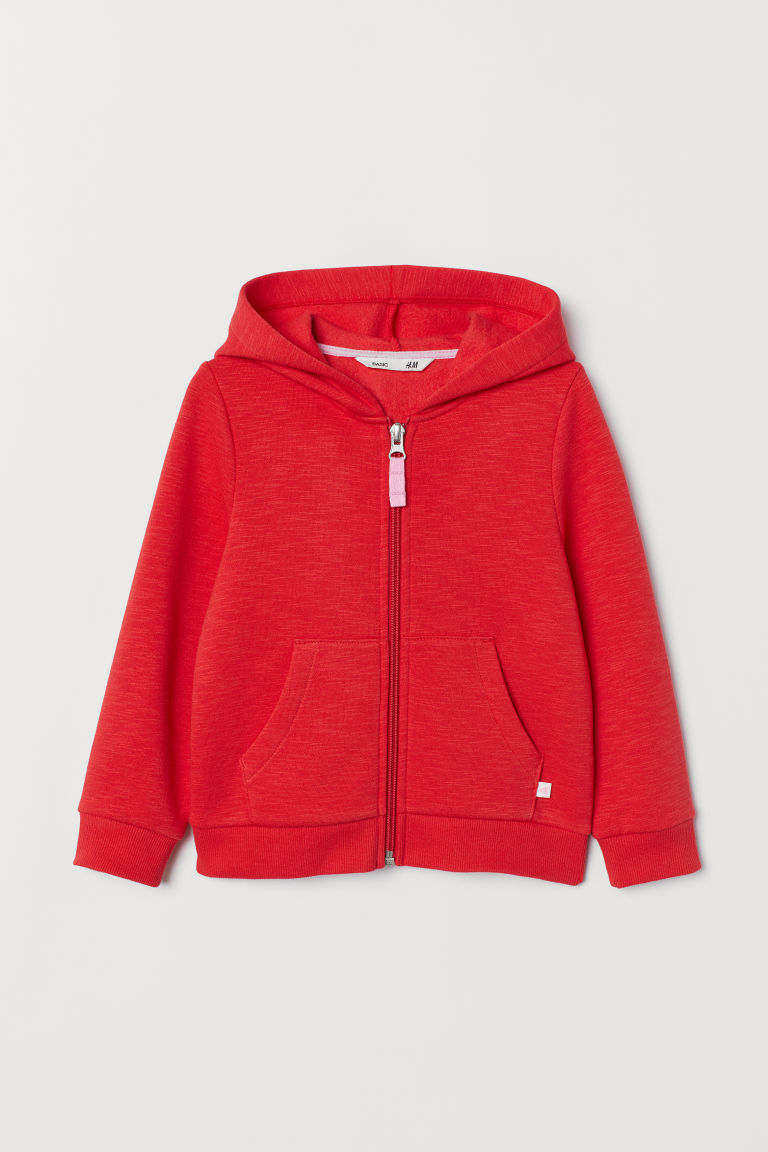 Hooded jacket - Red - Kids | H&M
