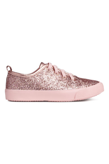 Trainers - Old rose/Glittery - Kids | H&M CN