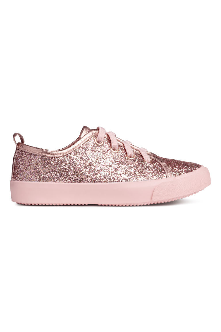 Trainers - Old rose/Glittery - Kids | H&M